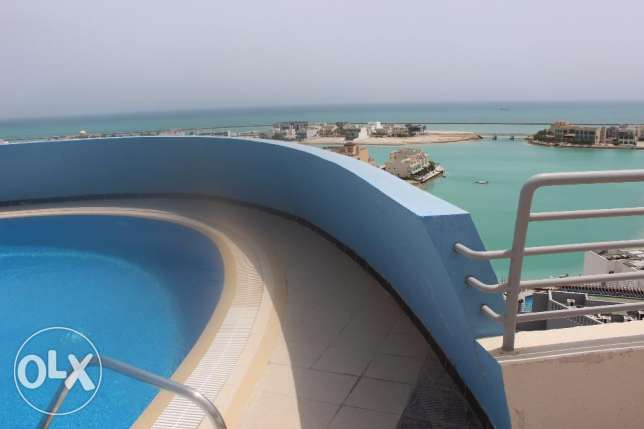 Beautiful 2 BR flat in Amwaj / Sea view / Balcony