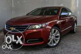 Chevrolet impala LTZ 2014 with sunroof