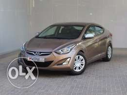 Hyundai Elentra 2016 Brown For Sale