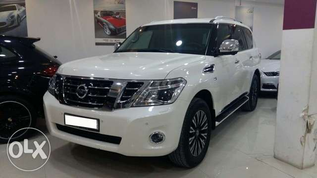 Nissan Patrol Platinum Model 2014 Full Option