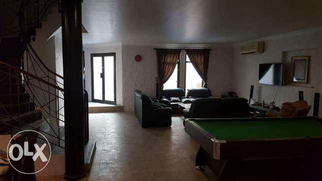 2 bedrooms fully furnished villa with swimming pool for rent in hidd