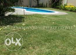 5 Bedroom fully furnished villa with private pool,garden rent inclusiv