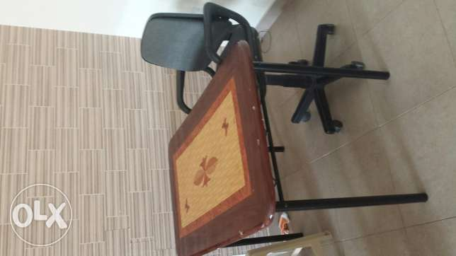 studying table with chair for urgent sale