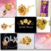 We provide the best quality of gold plated roses 24K