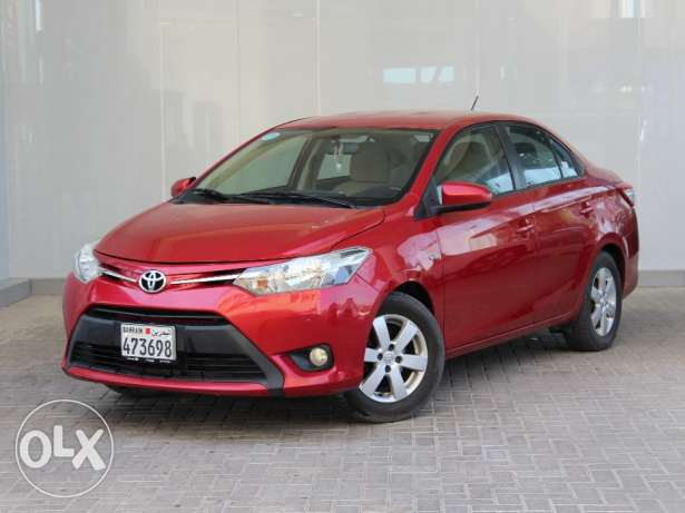 Toyota Yaris 2014 Red For Sale