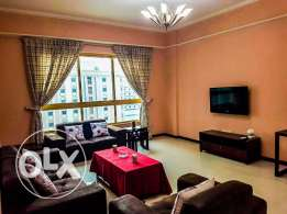 Spacious Bright Furnished 1 BR Apartment
