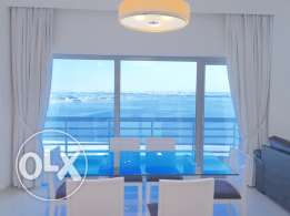 Two Bedrooms apartment in Mahooz . Sea view and Huge Balcony.