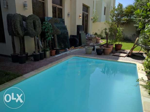 3 Bedroom fully furnished villa with large garden & private pool