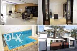 Modernly furnished Townhouse with private pool in Adliya