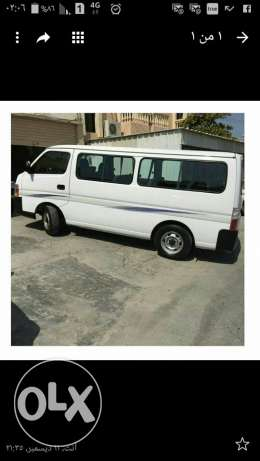 Nissan mini bus