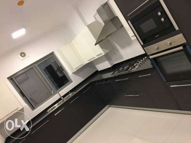New Hidd: 3 BR plus maid room semi furnished flat on low rent