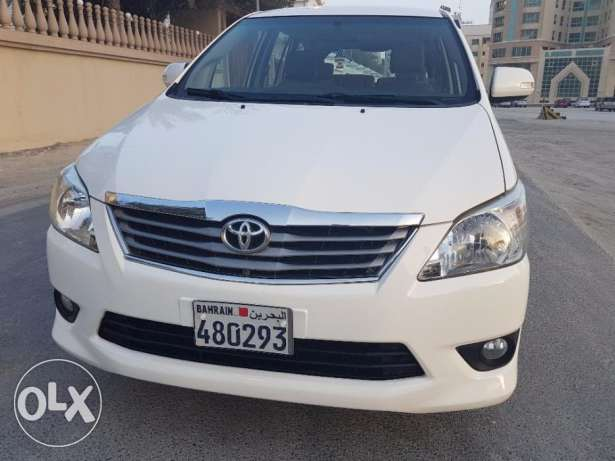 Toyota Innova 2014 Model Zero accidents Excellent condition