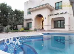 Lovely semi furnished stand alone villa for rent in Saar inclusive