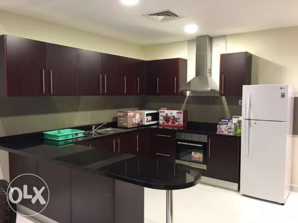 Amazing 1 Bedroom Brand new Apartment in Juffair/all facilities جفير -  1