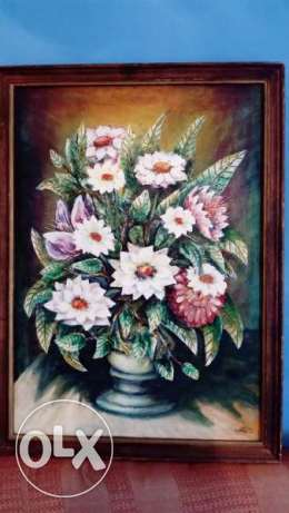 "SALE Fine Art Painting, oil on canvas, size 29"" x 21"" ( 75cm x 55cm )"
