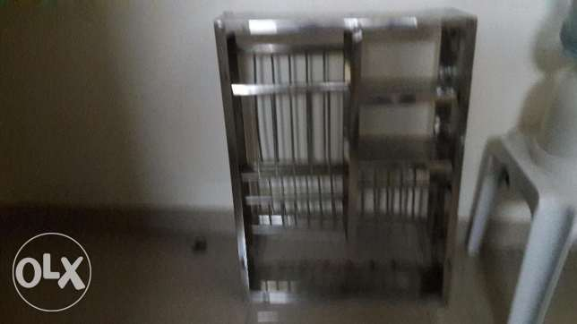 Indian steel rack and exercise bike for sale