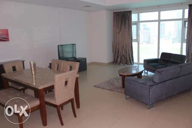 Lovely Sea view 2 BR in Seef / Balcony, Maids room