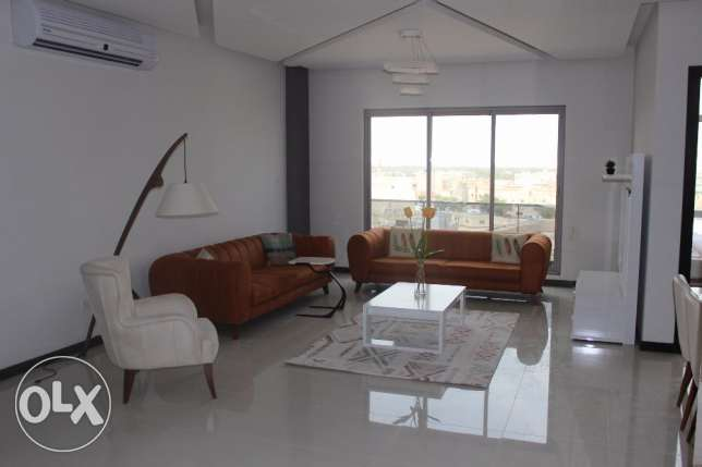 Sea view Brand new 2 BR in Janabiya