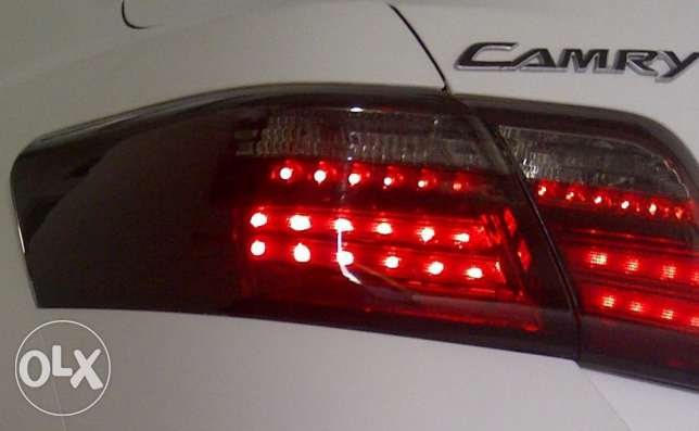Toyota Camry Smoked Red TAIL LIGHTS