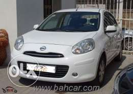 NISsan micra middle option 2012 model for sale