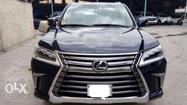 For Sale 2016 Lexus LX570 Only 002000Km Single owner Bahrain Agency