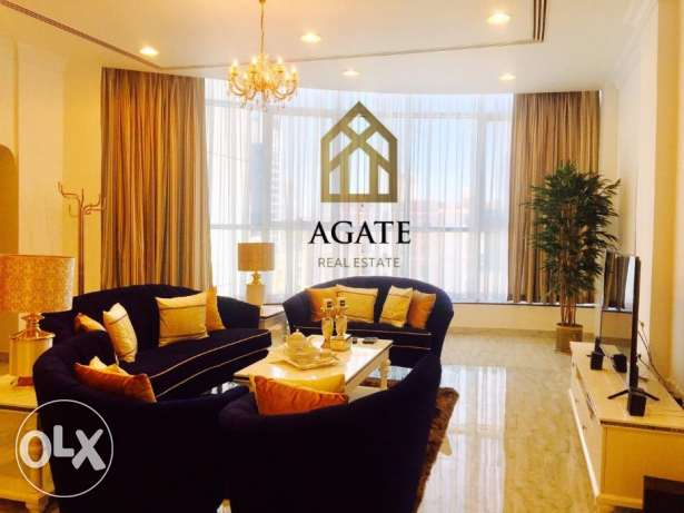Brand new ,very luxury 2 bedrooms apartment for rent in Seef area