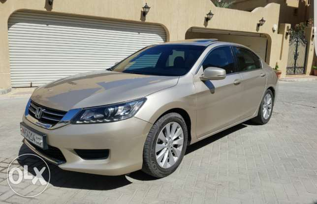 Expat Saling Honda accord 2013 full option