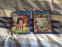 want to sell both games together say ur price gta only used for 1 week