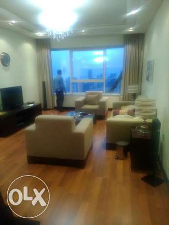 Luxury fully furnished flat for rent in great tower in manama