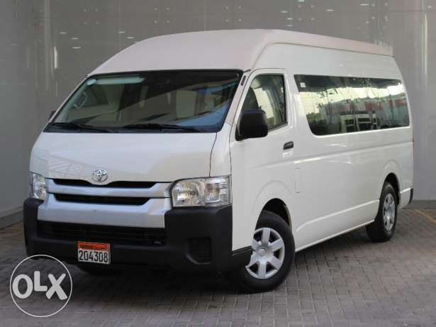Toyota Hiace 16 passenger 2016 White For Sale