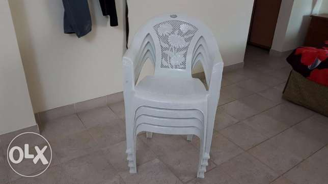 Plastic Chair (4 PCS) for sale