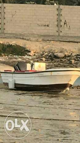 24 feet Dhaen boat with 200cc Yamaha very good condition