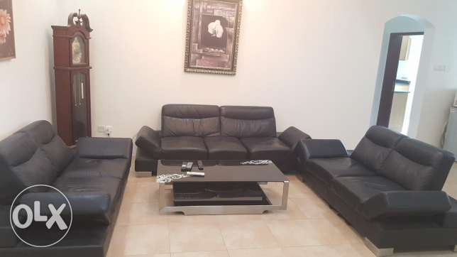 Fully furnished two BR flat in New hidd with gym & pool & balcony