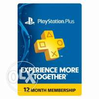 PSN PLUS for 12 months US