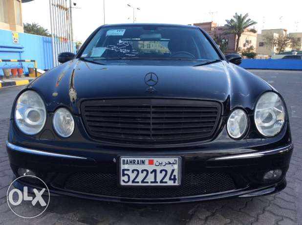 For Sale 2004 Mercedes Benz E500 AMG Only 37000KM Japan Specification