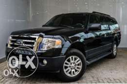 Ford Expedition 2014 black color