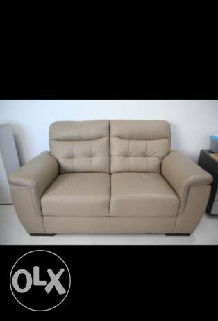 Hi, we would like to sell the office leather cou Couch