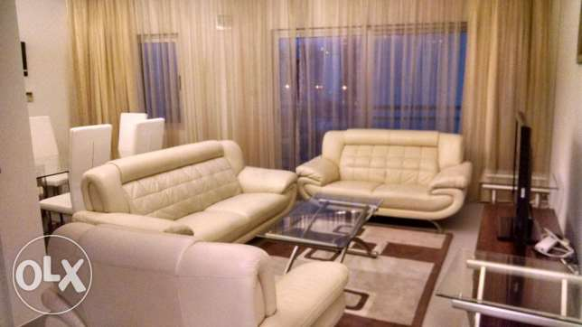 2 BR Fully Furnished Apartment in Amwaj at Sea view Location