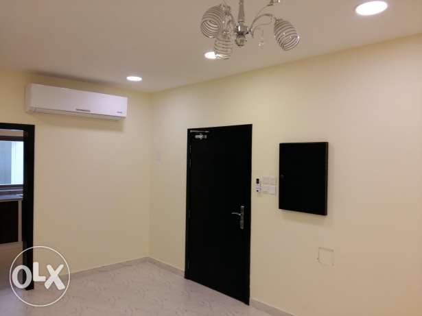 Semi furnished 2 BHK flat behind Almercado mall