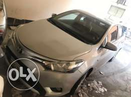 yaris 2014 almost new only 34,000 km