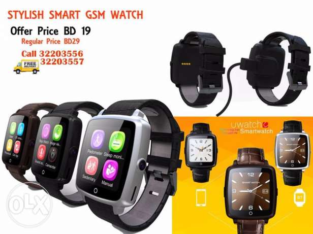 stylish smart gsm watch gesture control