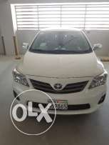 2013 Toyota Corolla, XLi - Excellent Condition (37500 KMs)
