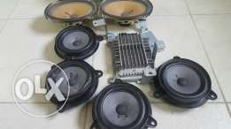 BOSE speakers, subwoofers, Amp and stereo system G35