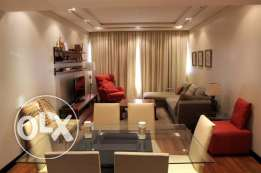 16SNA 2br fully furnished apartment for rent in Abraj lulu in Sanabis