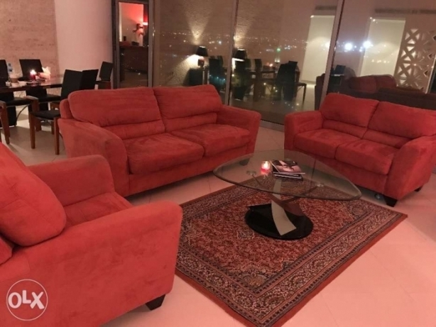 6 seater sofa and Turkish 6x5 carpet