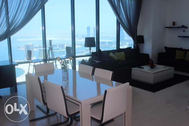 Gorgeous Sea view 2 BR in Seef / Balcony