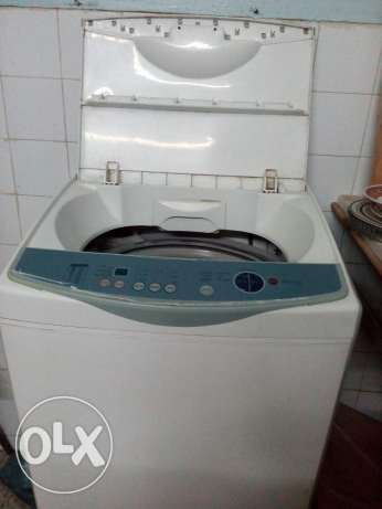 Washing machine for sele