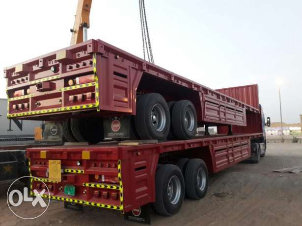 heavy duty bogie trailers for sale at lowest price and best quality