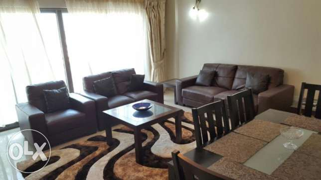 2br flat for rent in amwaj island [fully furnished] جزر امواج  -  1