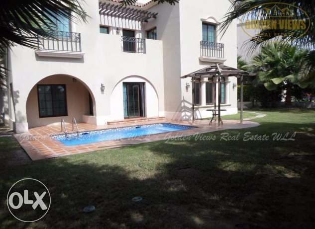 Hamala - 4 Bedroom semi furnished villa for rent with private pool